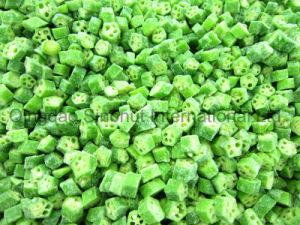 Frozen Okra of Frozen 1cm Cut Okra pictures & photos