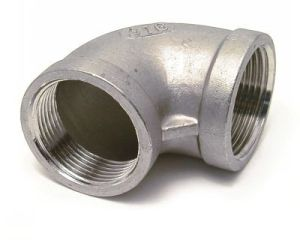Threaded Pipe Fittings, Forged Screwed 90 Degree NPT Thread Elbows pictures & photos