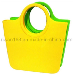 Silicone Tote Bag, Shopping Bag (GJB012)