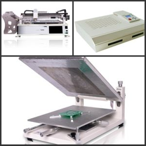 Hot Sale High Precision Adjustable Axis PCB Stencil Printer Machine Pm3040 pictures & photos