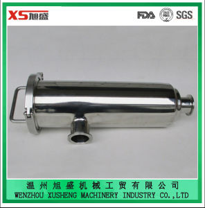 """1.5"""" 304 Stainless Steel Sanitary Clamped Angle Type Strainer pictures & photos"""