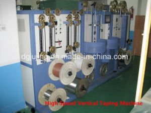 High Speed Nc Vertical Horizontal Cable Wire Taping Machine pictures & photos
