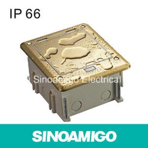 CE TUV IP66 Copper Waterproof Connector Box Floor Socket pictures & photos