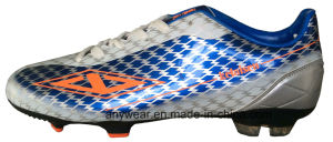 Soccer Football Boots with TPU Outsole Men′s Shoes (815-9634) pictures & photos
