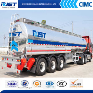 45m3 Aluminium Fuel Tank Semi Trailer/Oil Tank (WL9405GYY) pictures & photos