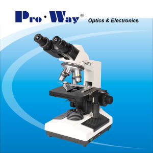 40X-1000X LED Sliding Binocular Biological Microscope (XSZ-PW107) pictures & photos