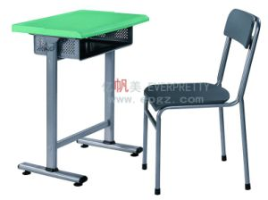 School Plastic Table and Wood Chairs Set School Furniture Set pictures & photos