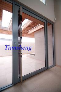 Fashionable Durable Aluminium Center Pivot Door/Side Hung Pivot Door pictures & photos