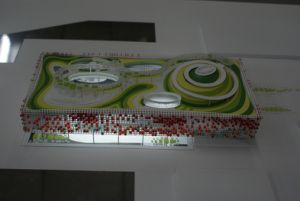 Architectural Scale Model of Chinese Expo Exhibition Hall pictures & photos