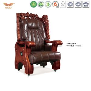 Luxury Wooden Executive Leather Chair (A-060) pictures & photos