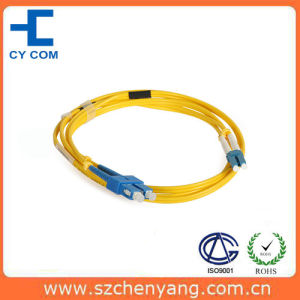 Fiber Optic Patch Cord (SC/PC-LC/PC-SM-DX-3.0-1M)