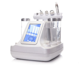 Water Dermabrasion with Spray and Inject Oxygen Facial Skin Care Machine pictures & photos