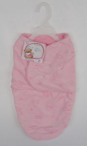 Printed Micro Mink and Sherpa Baby Sleeping Bag pictures & photos
