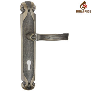 High Quality Full Zinc Door Lock Handle-056 pictures & photos