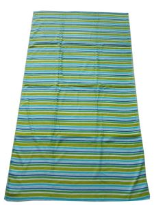 100% Cotton Velour Striped Beach Towel
