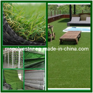 45mm 4-Color Landscaping Artificial Grass (SJK-B45N15EM)