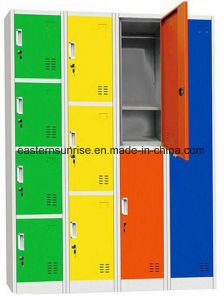 Customized Modern Hotel Bedroom Furniture Storage Locker Cabinet Wardrobe pictures & photos