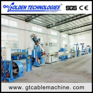 TPE Cable Wire Extrusion Line (70MM) pictures & photos