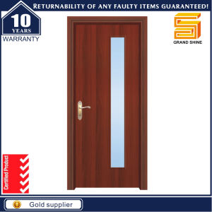 Interior Wooden MDF Solid Wood PVC Veneer Timber Room Door pictures & photos