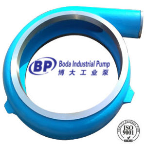 Slurry Pump Parts (volute liner) pictures & photos