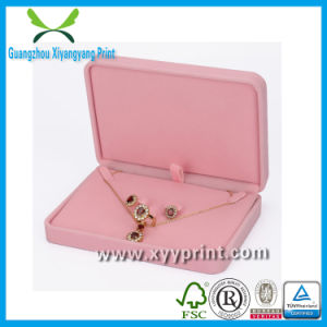 Factory Custom Luxury Paper jewelry Box Wholesale with Print pictures & photos