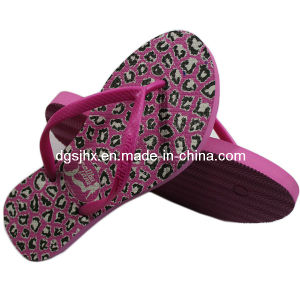 Ladies′ Rubber PE Flip Flops pictures & photos