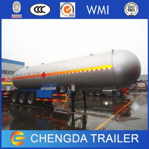 3axle 42m3 59.6m3 LPG Tanker Truck Semi Trailer pictures & photos