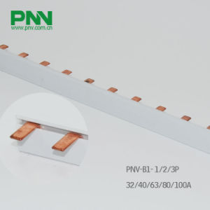 Busbar, 1p Pin Copper Busbar 32A 1.0*5mm