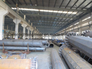 Octagonal Shape Steel CCTV Poles pictures & photos