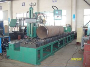 Pipe Cutting and Edge Preparation Machine (Roller-Bench-Type with Flame) pictures & photos