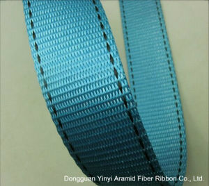Supply Polyester Lifting Belt Manufacturers Custom Blue Double Lane 4.5cm pictures & photos
