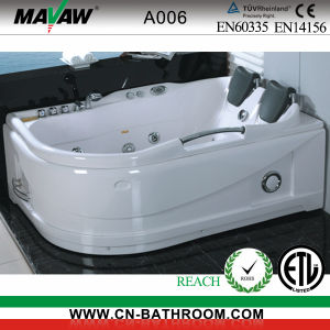 Comforatble Double-Person Massage Bathtub (A006)