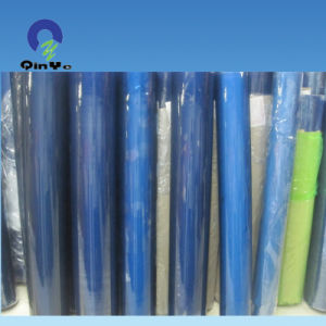 China Blue Flexible Transparent PVC Film for Package and Printing pictures & photos