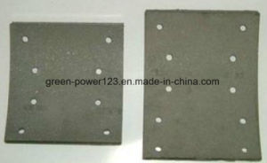 HOWO Holes Ceramic Brake Lining pictures & photos