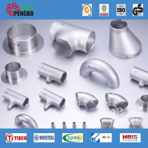 Stainless Steel Wp316 Equal Tee Pipe Fitting pictures & photos