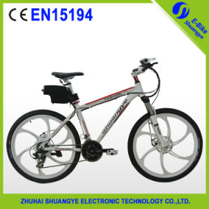26 Inch Magnesium Wheel 36V Electric Mountain Bike pictures & photos