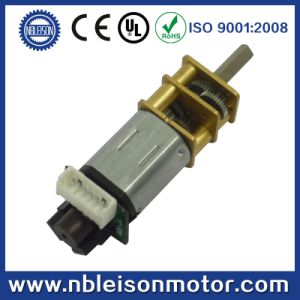 china 6v 12v n20 micro metal gear motor with encoder