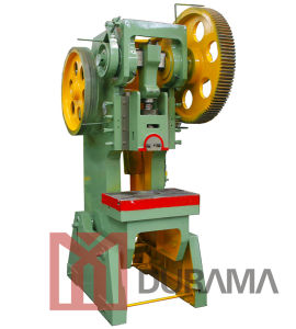 Drj23 C Type Mechanical Power Press / Punching Machine / Different Metal Shape Making Machine pictures & photos