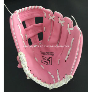 Kids Like PVC Leather Promotion Baseball Glove pictures & photos