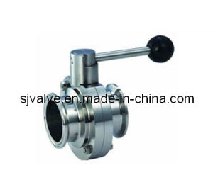 Stainless Steel 304 Sanitary Butterfly Valves pictures & photos