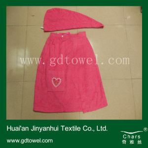 Popular Hair Dry Towel Dress Towel Set for Home Use (Y365)