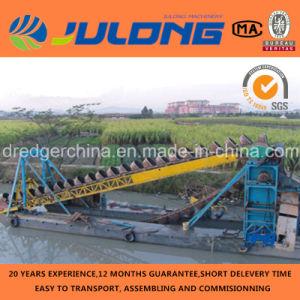 Qingzhou Julong Brand Bucket Chain Gold / Sand Dredger for Sale
