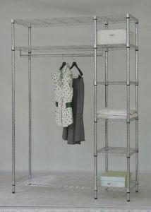 Cheap Adjustable Garment Hanger Clothes Rack (LD12045180A3C) pictures & photos