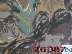 Polyester/Cotton Twill Shrubbery Hunting Camo Fabric pictures & photos