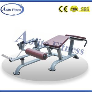 Commercial Plate Loaded Leg Curl Machine / Fitness pictures & photos