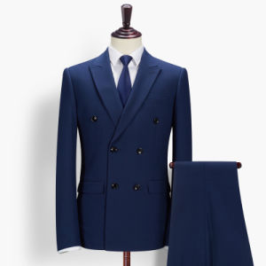 Double Breasted Tailored Business Mens Suit pictures & photos