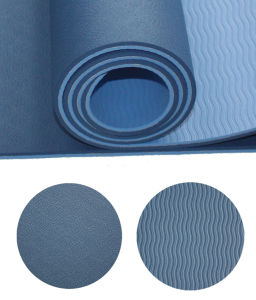Popular Thick Yoga Mat for Fitness 6mm pictures & photos