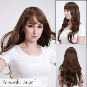 High Quality Heat Resistant Long Hair Fashion Synthetic Wigs pictures & photos