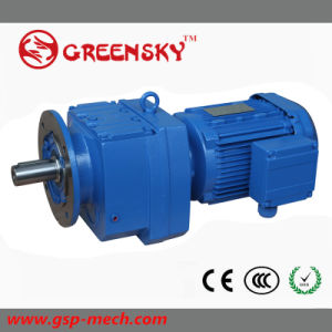 Helical Gear Motor Gearbox Speed Reductor pictures & photos