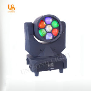 Unibond Lighting 7PCS 10W LED Moving Head Wash Light pictures & photos